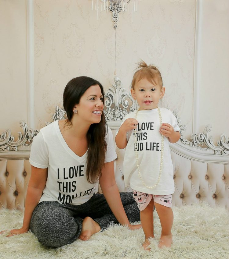 Live Styled Shop, Etsy Mom tee