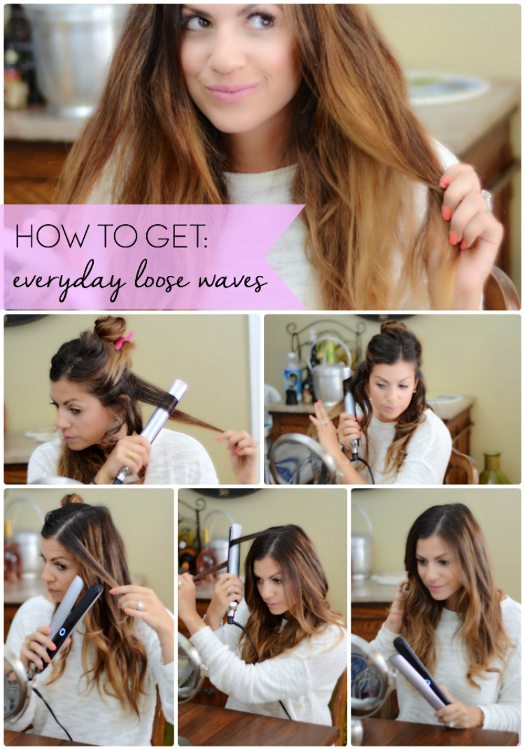 How To Get Everyday Loose Waves