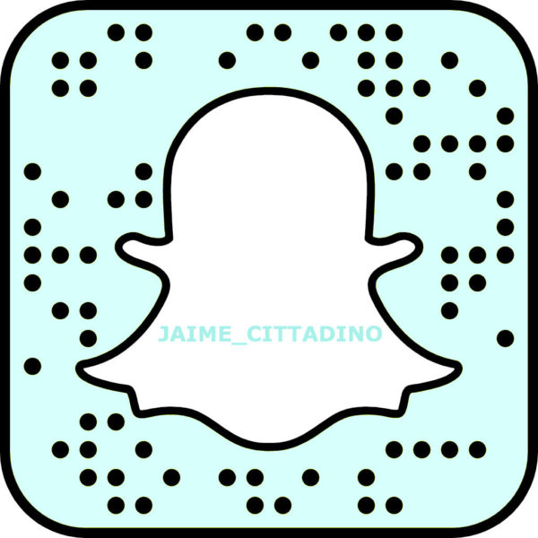 snapchat snapcode jaime cittadino