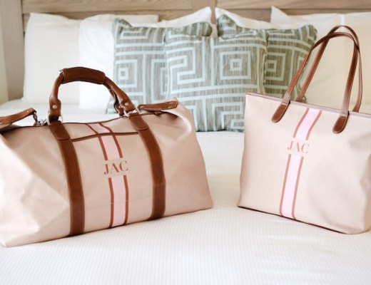 Barrington Gifts Fall Stripe Monogram