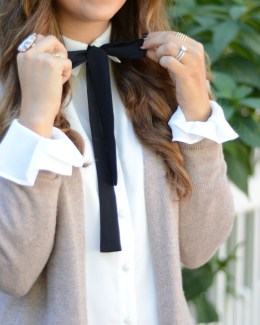 Tularosa Dress, Bow Shirtdress