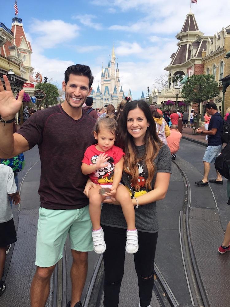 Disney World family photo