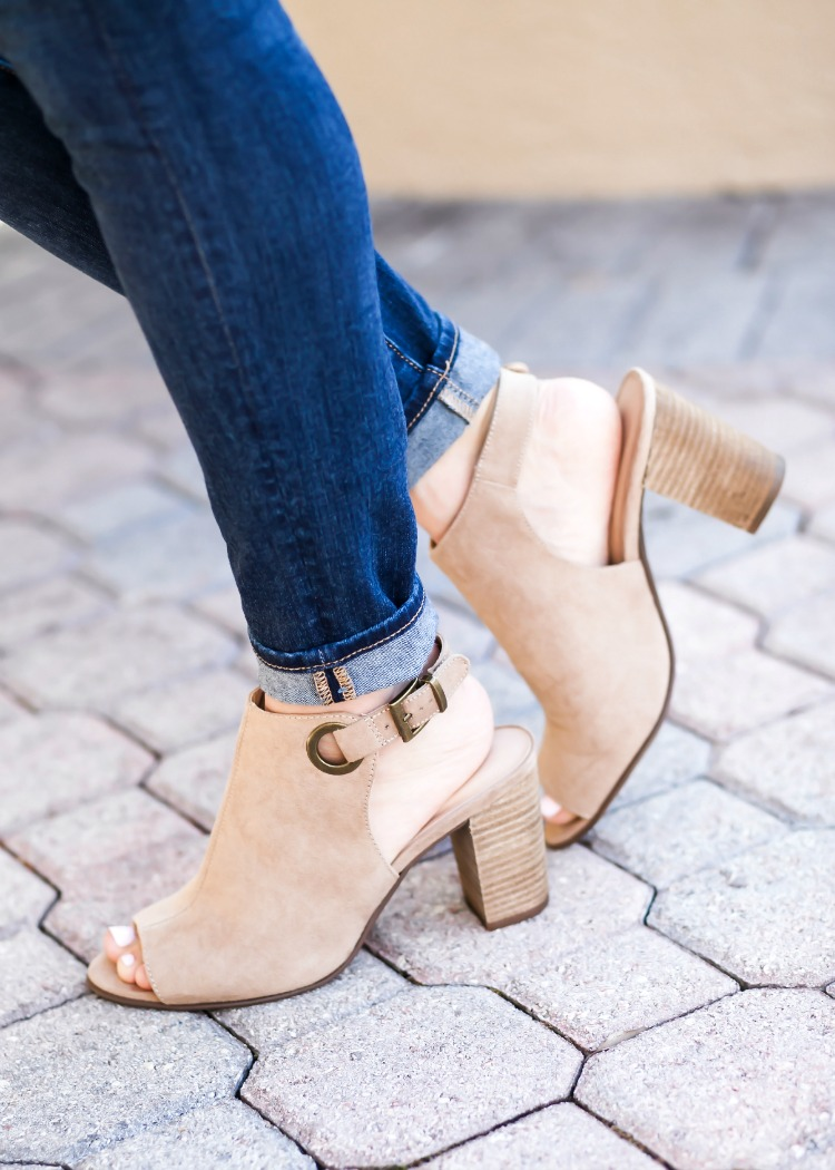 Marks & Spencer Nude Booties