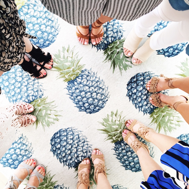 Pineapple Carpet