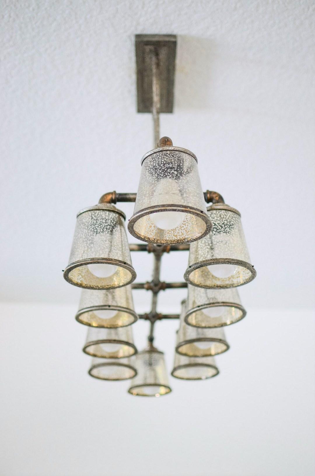 Lamps Plus chandelier _ Industrial Chandelier
