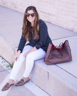 pattern mix like a pro _ casual chic fall style