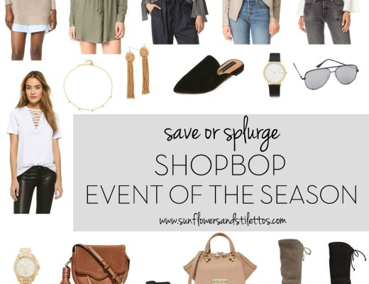 Shopbop Event Of The Season Sale