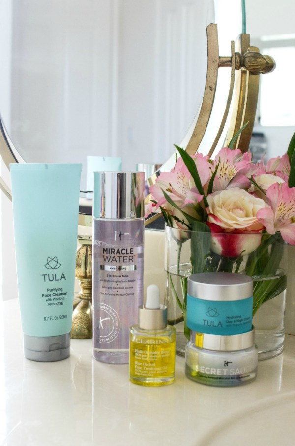 skincare routine for younger looking skin by Fashion and Beauty Blogger Jaime Cittadino of Sunflowers and Stilettos