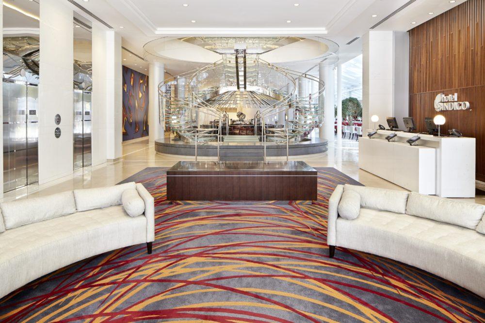 Hotel Indigo Atlanta Downtown lobby, Atlanta Hotel review