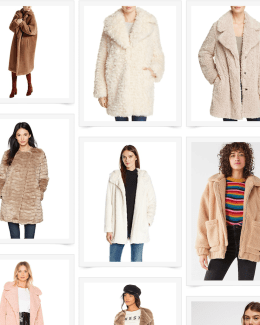 best teddy bear coats, best winter coats