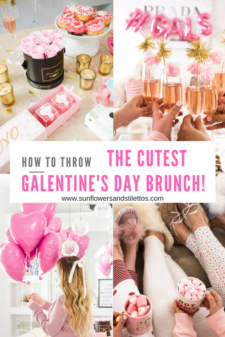 how to throw the cutest galentine's day brunch