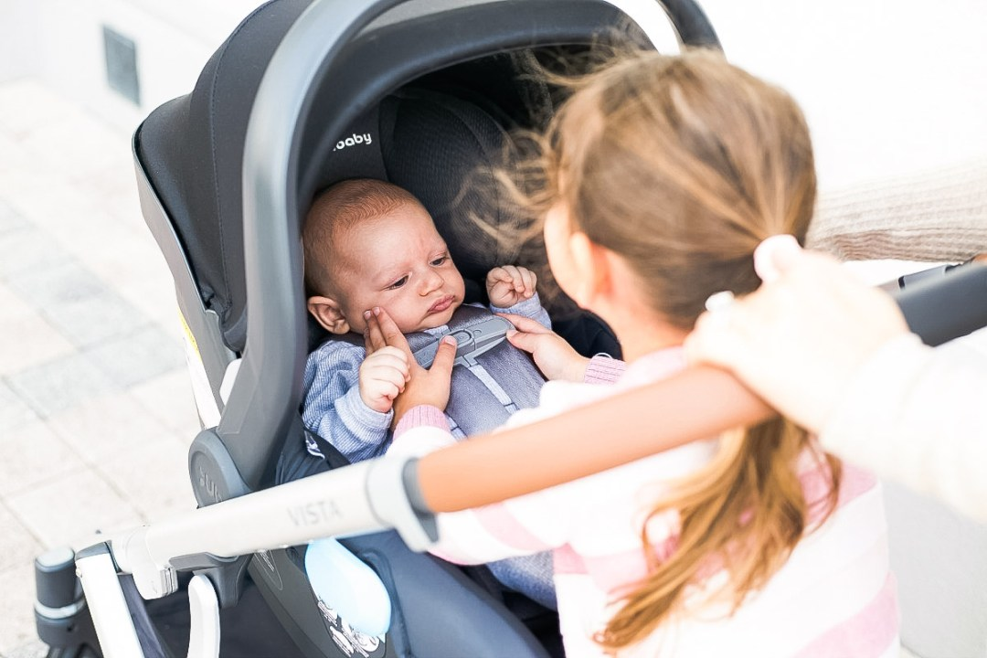 UPPAbaby MESA and VISTA double stroller review by Jaime Cittadino, South Florida mom blogger