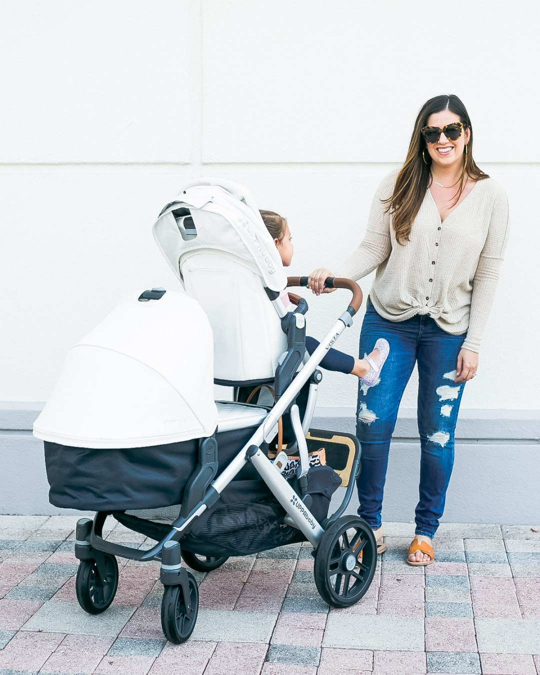 UPPAbaby Vista stroller review by Jaime Cittadino of Sunflowers and Stilettos