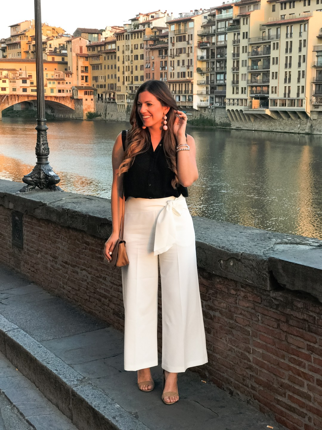 PONTE VECCHIO, FLORENCE TRAVEL GUIDE, SUNFLOWERS AND STILETTOS TRAVEL BLOG
