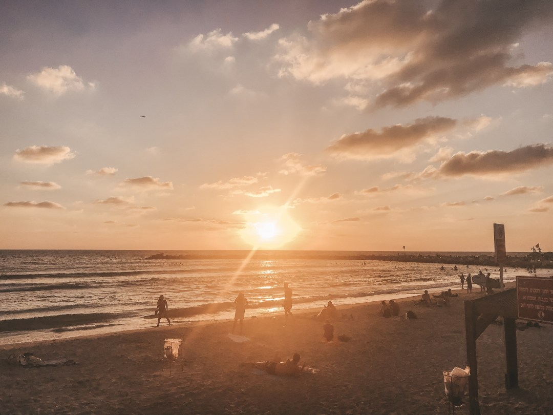 Tel Aviv Israel Sunset, Tel Aviv travel