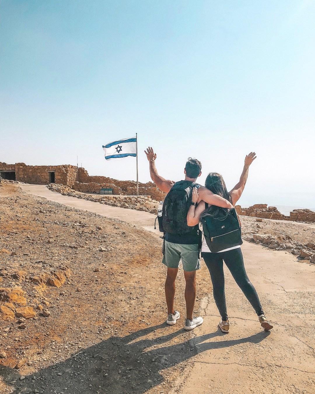 Masada, Abraham tours Israel