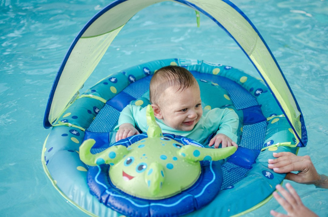 SwimWays Sun Shade float, baby pool float