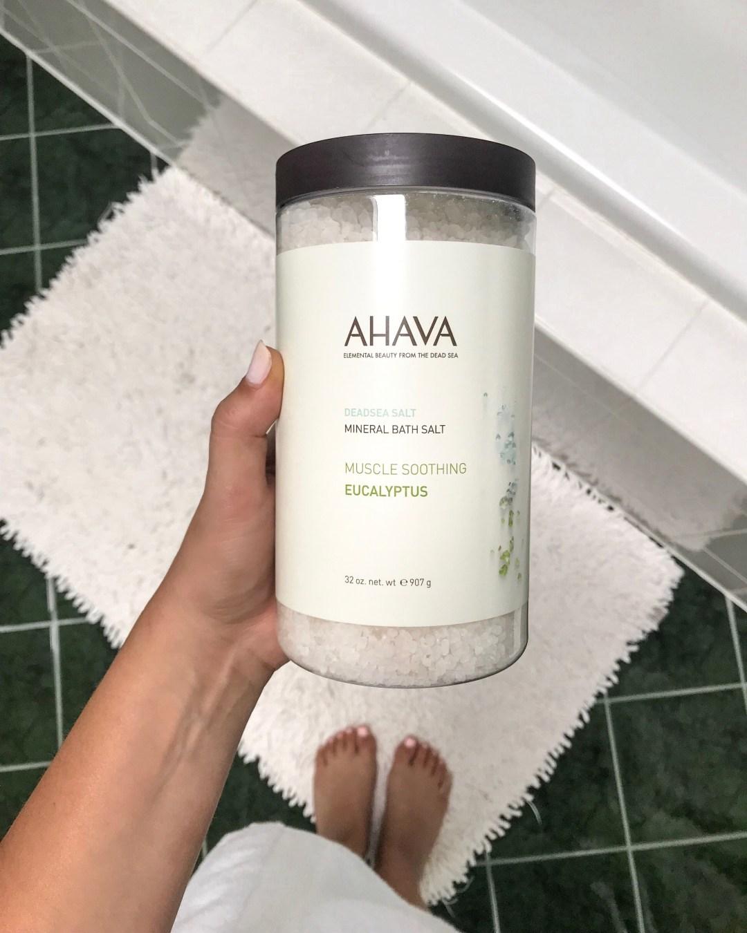 Ahava mineral bath salt review