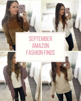 September Amazon Fashion Finds