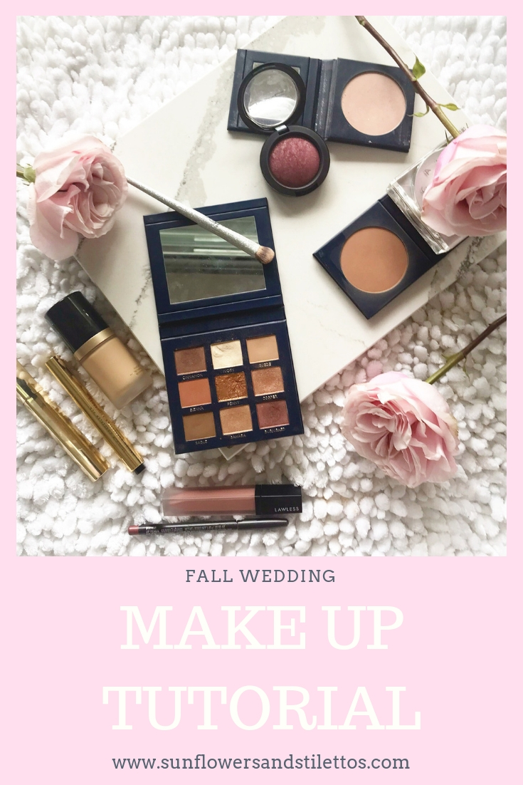 FALL WEDDING MAKE UP TUTORIAL