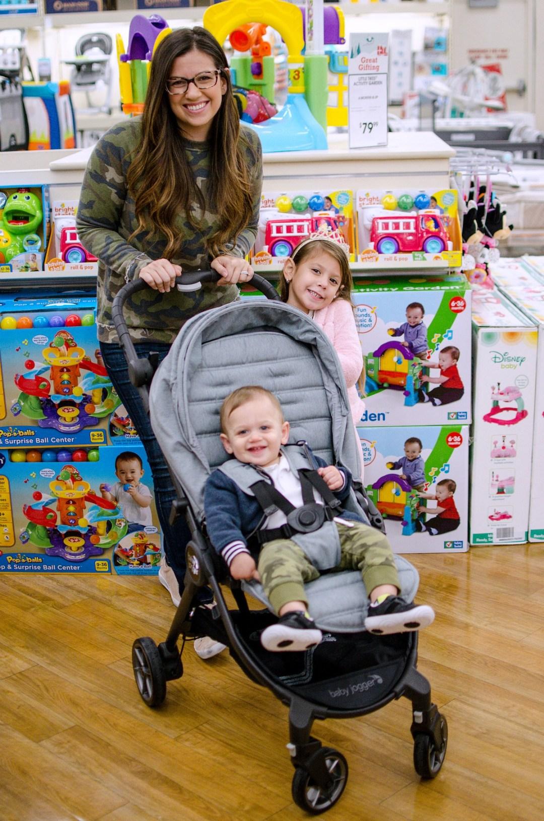 buybuy BABY toys shopping family, Jaime Cittadino Sunflowers and Stilettos blog