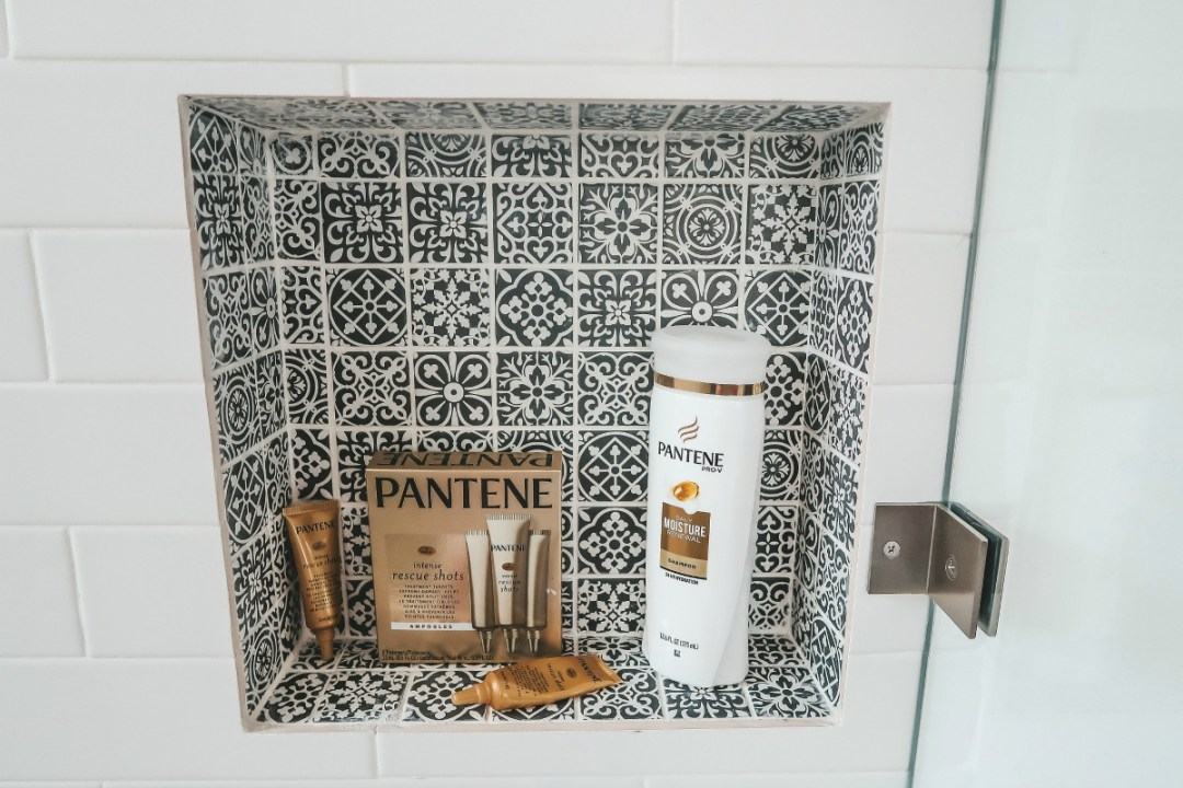 Pantene rescue shots , dry hair repair, dry hair rescue mask
