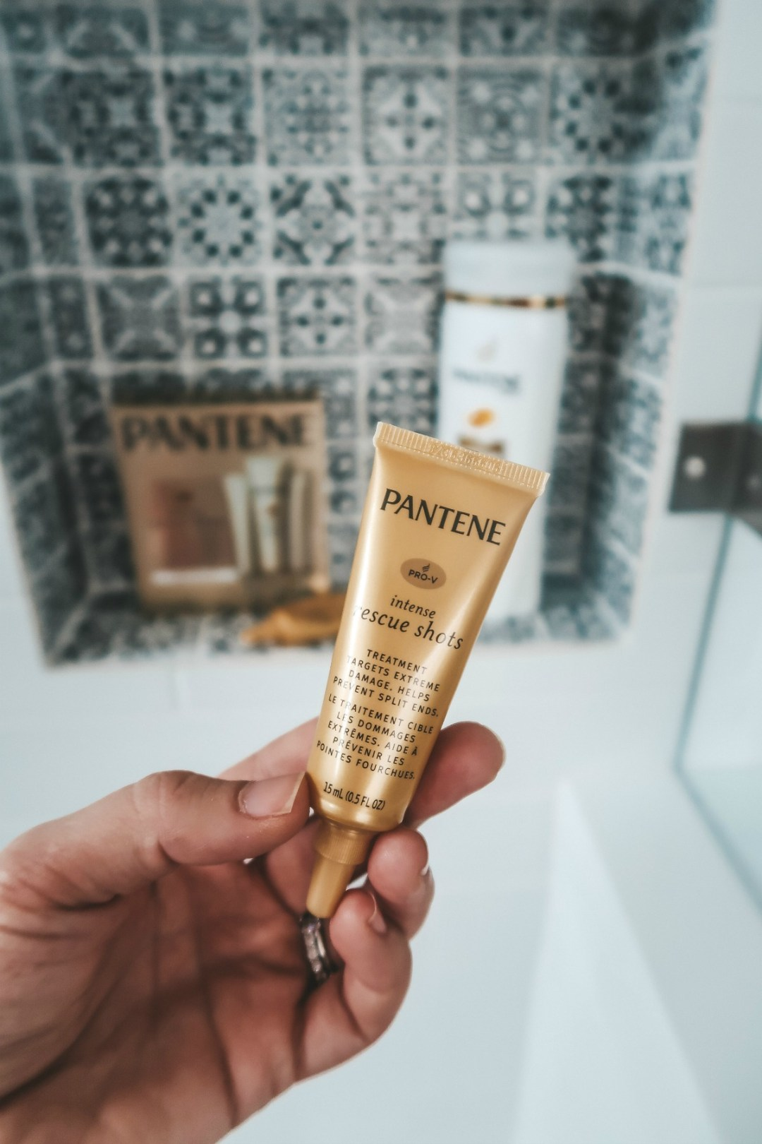 Pantene rescue shots review, Pantene rescue shots