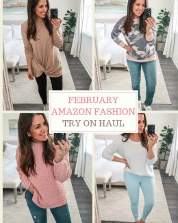 February Amazon Fashion Try On Haul by Jaime Cittadino of Sunflowers and Stilettos