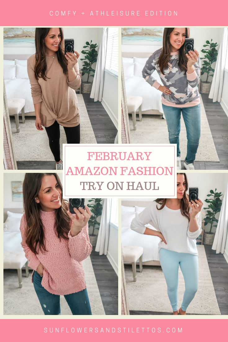 February Amazon Fashion Try On Haul by Jaime Cittadino of Sunflowers and Stilettos