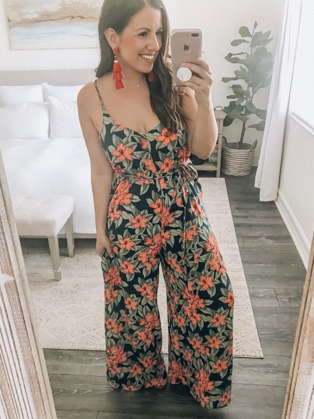Jungle Jumpsuit, Vacation Style Jumpsuit, Affordable Cute Jumpsuit, Red Dress Boutique