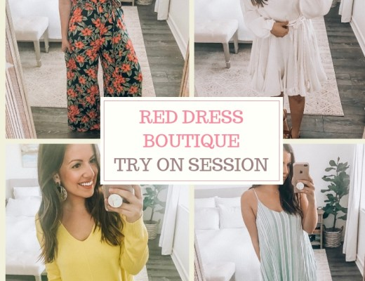 Red Dress Boutique Try On Session