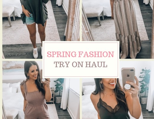 Spring Fashion Try On Haul with Red Dress Boutique by Jaime Cittadino of Sunflowers and Stilettos blog