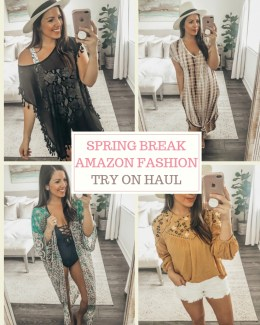 Amazon Fashion Try On Haul by Jaime Cittadino of Sunflowers and Stilettos blog