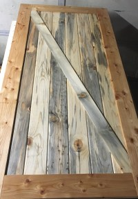 Making Interior Barn Doors | sunflowersnrosesblog