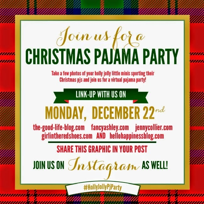 Holly Jolly PJ Party + Vote for Nash's Nursery