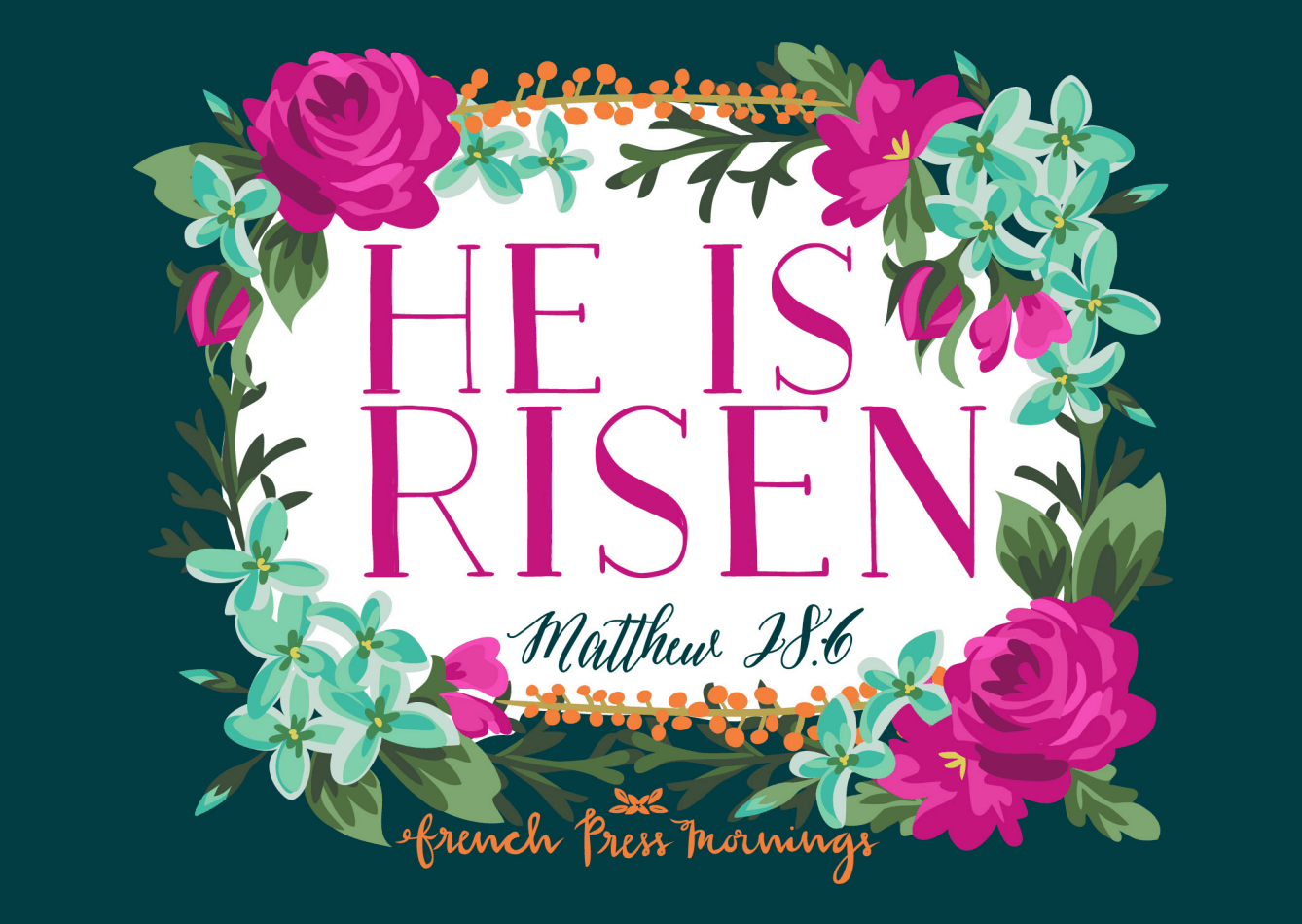 Sunflower State of Mind: He is Risen Free Printable