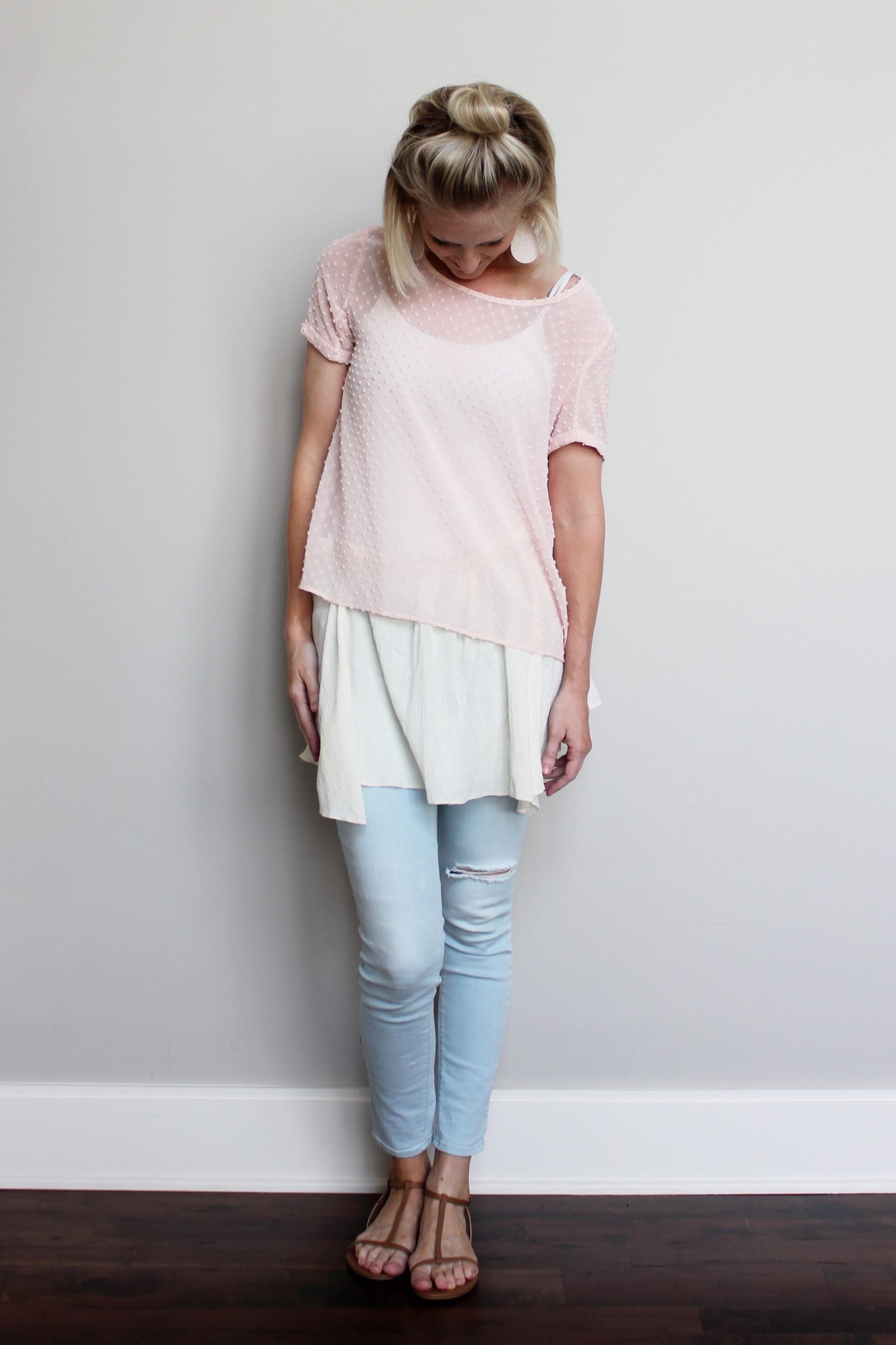 Classic Dianne Asymmetrical Shirt Extender