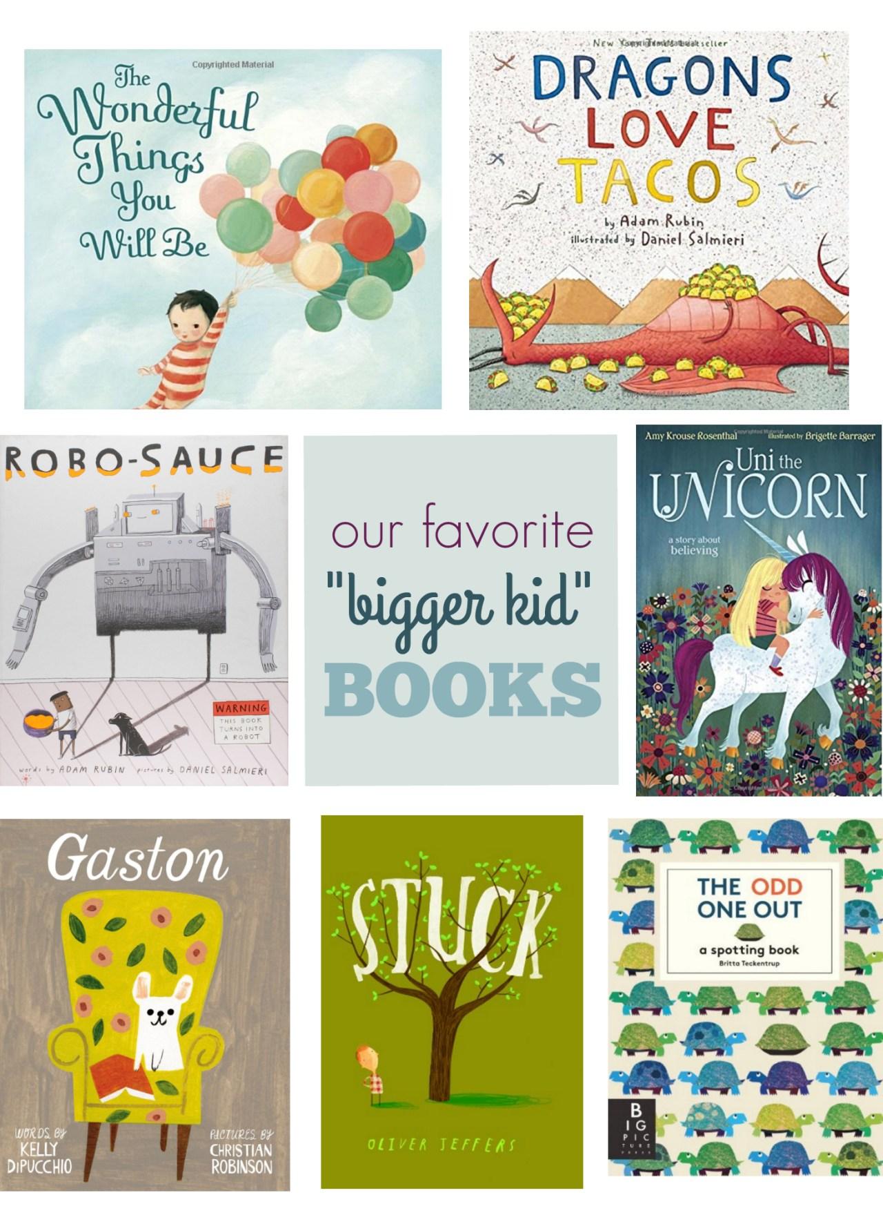 """Favorite """"Bigger Kid"""" Books"""
