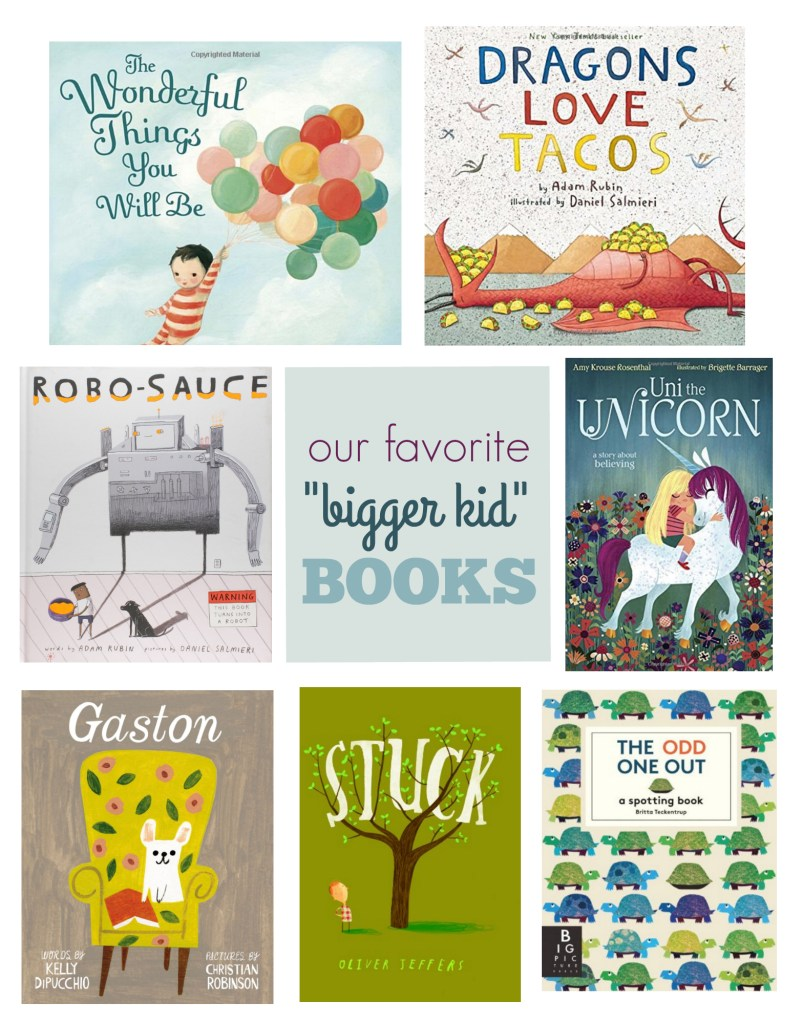 favorite bigger kid books
