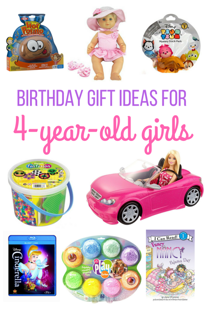 4 year old girl birthday gift ideas