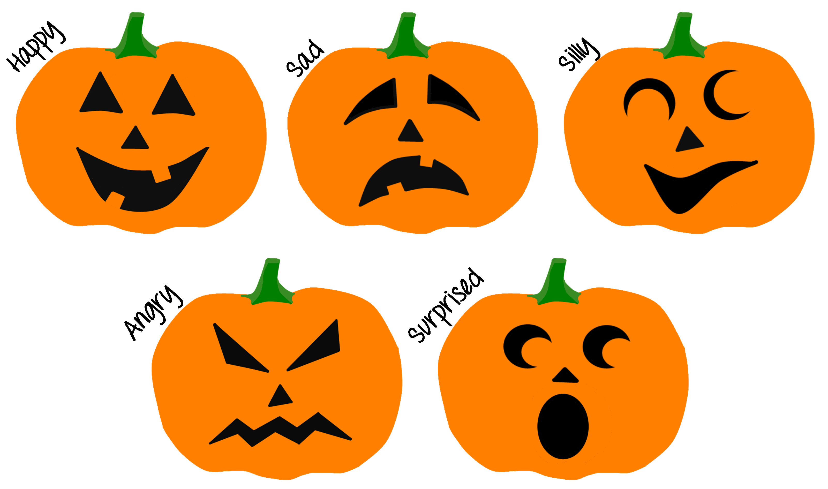 Feelings Jack O Lanterns
