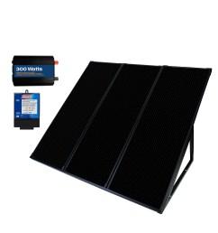 55 watt 12 volt solar power generator kit [ 3000 x 3000 Pixel ]