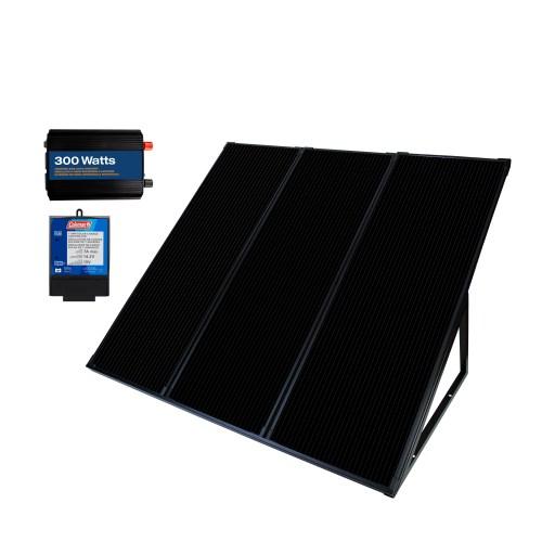 small resolution of 55 watt 12 volt solar power generator kit
