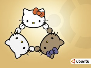 Ubuntu Hello Kitty