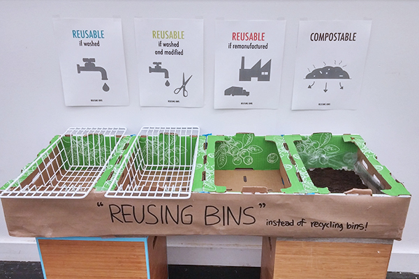 Prototype of Reusing Bins