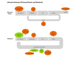 Bioplastics and Recycling Systems