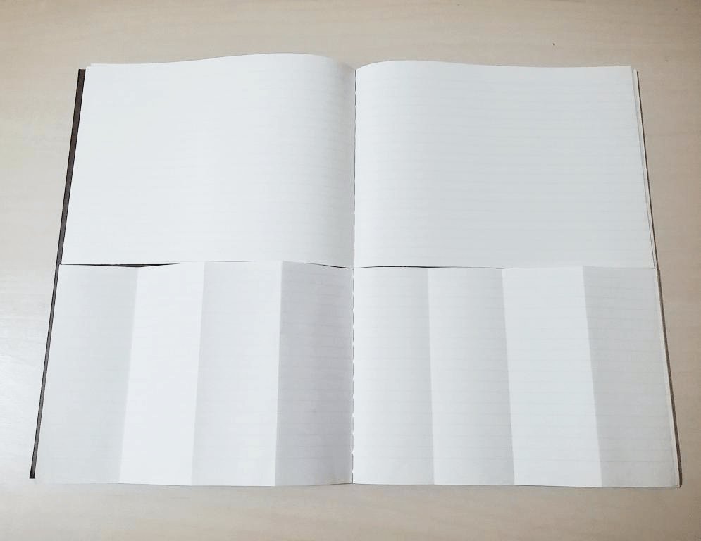 Start the planner from the second page to see a week in one view.