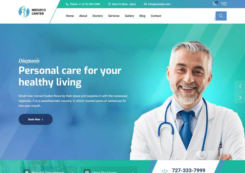 Best Medical Directory WordPress Themes