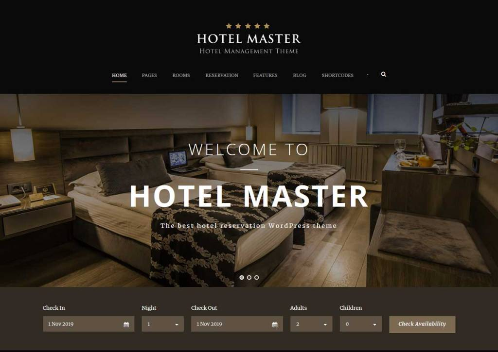 Best WordPress Hotel & Resort Themes