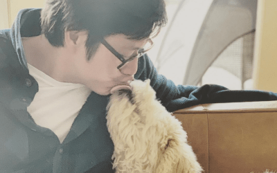 You Need To See How Cute Sung Kang And His Dog DaeJi Are